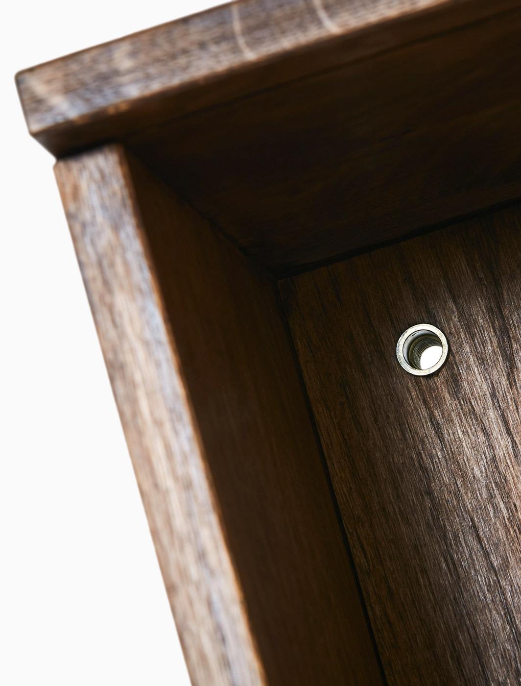 Detail des Holzkorpus